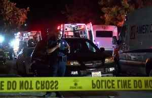 News video: Four killed in shooting at California football party