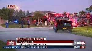 House damaged by fire on Pine Lily Drive in Fort Myers early Monday [Video]