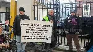 Extinction Rebellion commence week-long hunger strikes in central London [Video]