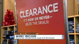 The biggest financial mistakes during the holidays [Video]