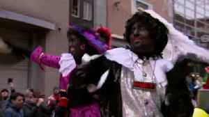 Dutch protests over Black Pete festivalgoers [Video]