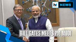 Bill Gates meets PM Modi, attends NITI Aayog event on Indian health system [Video]