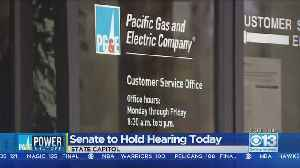 PG&E CEO To Testify About Power Shutoffs In California [Video]