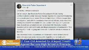 17-Year-Old Boy Arrested For Threats Against Ramona High School In Riverside [Video]