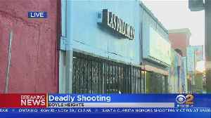 Man Dead, Another Wounded After Boyle Heights Bar Fight Turns Into Shooting [Video]