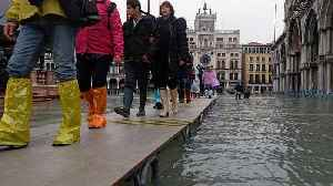 Italian flood warnings spread beyond Venice, as rivers rise in Pisa, Florence [Video]