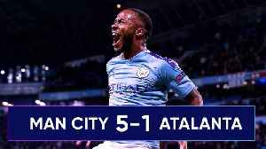 News video: Manchester City 5-1 Atalanta | Could Sterling Win The Champions League For City?! #UCLReview