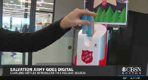 Salvation Army Introduces Cashless Kettles For Holiday Season [Video]
