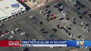 3 Killed Outside Oklahoma Walmart [Video]