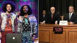 'SNL' Recap: Harry Styles Pulls Double Duty, Jon Hamm's Impeachment Hearing Cameo   THR News [Video]
