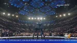 Kanye West, Kim Kardashian Appear At Pastor Joel Osteen's Houston Megachurch [Video]