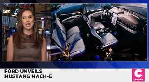 News video: Ford Unveils Electric SUV Mustang Mach-E