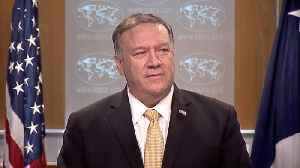 Pompeo: US Condemns Iranian Regime's 'Act Of Violence' Against Citizens [Video]