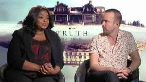 Octavia Spencer, Aaron Paul Talk 'Truth Be Told' [Video]