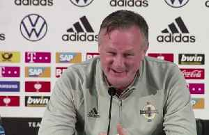 News video: Northern Ireland boss hopes Germany's star players are rested