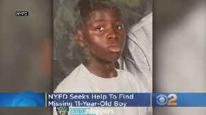 NYPD Seeks Help To Find Missing 11-Year-Old Boy From Brooklyn [Video]
