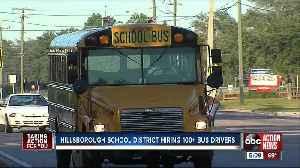 Hillsborough County Schools hiring more than 120 bus drivers [Video]