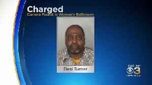 Man Accused Of Placing Hidden Camera Inside Women's Bathroom Where He Worked [Video]