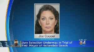 Jury Selection Starts In Former Hallandale Beach Mayor's Corruption Trial [Video]