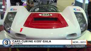 Cars Curing Kids raises funds for childhood disease research at Ford v Ferrari premier [Video]