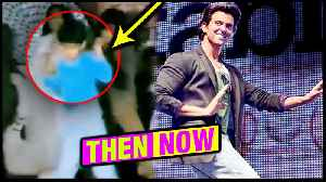 Hrithik Roshan ENERGETIC Childhood Dance Video On Amitabh's Song Apni Toh Jaise Taise From Laawaris [Video]