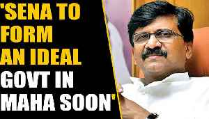Sanjay Raut says Sena will form a strong, stable & best govt in Maharashtra | OneIndia News [Video]