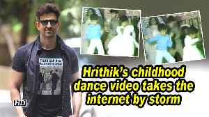 Hrithik's childhood dance video takes the internet by storm [Video]