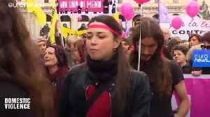 News video: 'There is huge resistance': Europe's problem with violence against women