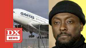 News video: will.i.am Accuses Flight Attendant Of Racism For Calling Police On Him