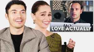 Emilia Clarke, Henry Golding & the Cast of 'Last Christmas' Review Holiday Movies [Video]