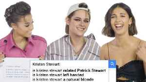 Kristen Stewart, Naomi Scott, and Ella Balinska Answer the Web's Most Searched Questions [Video]
