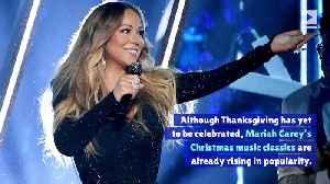 Mariah Carey Sits High on All Six 'Billboard' Holiday Charts [Video]
