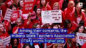 Half of Indiana School Districts Close on Red for Ed Day [Video]