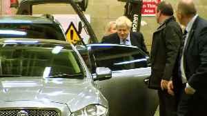Boris Johnson departs first TV election debate [Video]