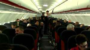 Budget airline easyJet to offset carbon emissions from all flights [Video]
