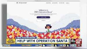 Operation Santa: Adopt a letter to help children in need [Video]