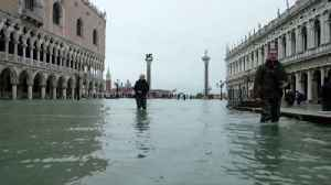 Venice floods: Further warnings of high tides [Video]
