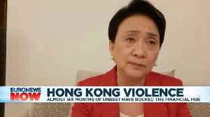 'UK should give passports to Hongkongers,' pro-democracy politician tells Euronews [Video]