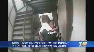 News video: 'We Got Her, We Got Her!': Video Shows Dramatic Rescue Of Michael Webb's 8-Year-Old Kidnapping Victim