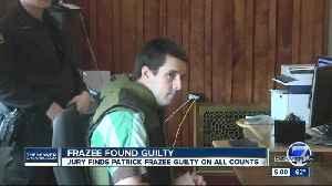 Jury finds Patrick Frazee guilty of murdering fiancée Kelsey Berreth last Thanksgiving [Video]