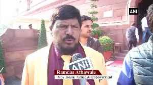 Athawale suggests 3 year BJP CM 2 year Shiv Sena CM formula to Sanjay Raut [Video]