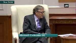 Bill Gates meets PM Modi in Delhi [Video]