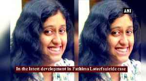 Fathima Suicide case Students sit on hunger strike seek justice [Video]