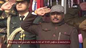 Lt Governor GC Murmu DGP Dilbag Singh attend JK Police passing out [Video]
