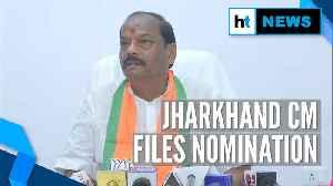 News video: Jharkhand CM Raghubar Das files nomination from Jamshedpur East