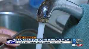 Baltimore City Council unanimously passes Water Accountability and Equity Act [Video]