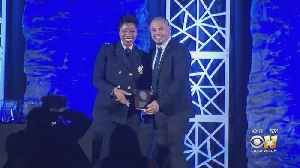 Dallas Police Officers Honored Monday Night At 2 Very Different Dinners [Video]