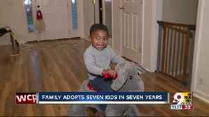 Batavia family adopts seven children in seven years [Video]