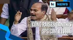 Fireworks in Lok Sabha over removal of Gandhi family's SPG cover [Video]