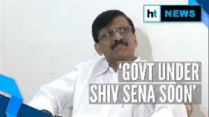 News video: Soon an ideal govt will be formed in Maharashtra under Shiv Sena: Sanjay Raut
